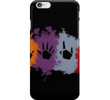 Prime Beams Splatter (Transparent Symbols) iPhone Case/Skin