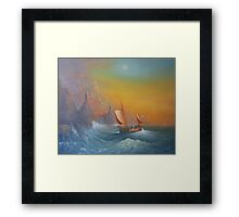 """The Voyage """"A Star Shines"""" Framed Print"""