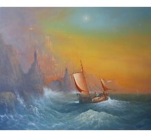 """The Voyage """"A Star Shines"""" Photographic Print"""