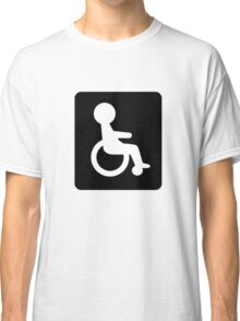 Handicapped Logo Sign Icon Classic T-Shirt