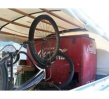 Bike Cola  Photographic Print