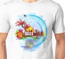 Sunset Beach Ibiza Unisex T-Shirt