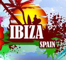 Sunset Beach Ibiza Sticker