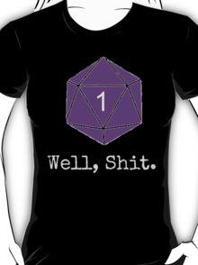 Critical Fail Roll - Custom Basic T-Shirt