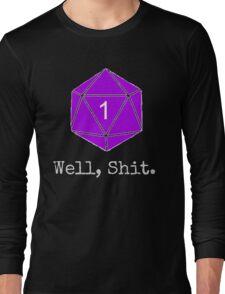 Critical Fail Roll - Custom Basic Long Sleeve T-Shirt