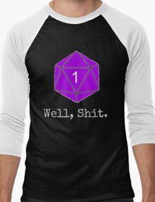 Critical Fail Roll - Custom Basic Men's Baseball ¾ T-Shirt