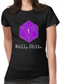 Critical Fail Roll - Custom Basic Womens Fitted T-Shirt