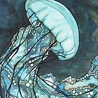 Aqua Jellyfish by Tamara Phillips