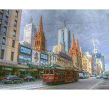 Melbourne Icons On Flinders Photographic Print