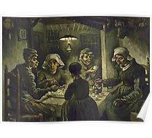 Vincent Van Gogh -  Potato Eaters Poster
