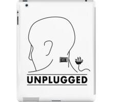 Unplugged iPad Case/Skin