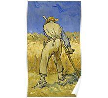 Vincent Van Gogh -  Reaper 1890 Poster