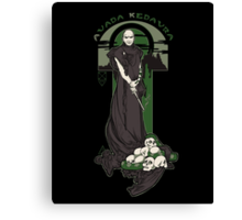 Voldemort Nouveau revised Canvas Print
