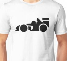 Formula One Racing Car Icon Unisex T-Shirt