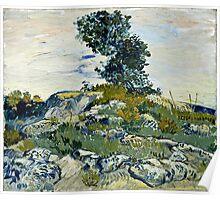 Vincent Van Gogh -  Rocks, 1888  Poster