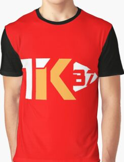 Touchdown King 87 Red Graphic T-Shirt