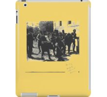 Arrest of the Assassin of Archduke Ferdinand 1914 - T-Shirt etc... iPad Case/Skin