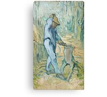 Vincent Van Gogh -  Woodcutter (After Millet) 1890 Canvas Print