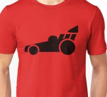 Dragster Race Car Icon Unisex T-Shirt
