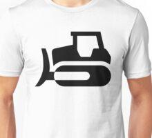 Bulldozer Icon Unisex T-Shirt