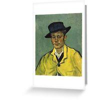 Vincent Van Gogh - Armand Roulin 1888 Greeting Card