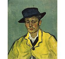 Vincent Van Gogh - Armand Roulin 1888 Photographic Print