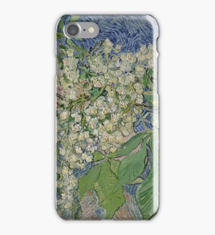 Vincent Van Gogh - Blossoming Chestnut Branches 1890 iPhone Case/Skin