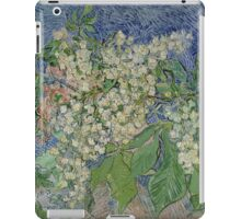 Vincent Van Gogh - Blossoming Chestnut Branches 1890 iPad Case/Skin