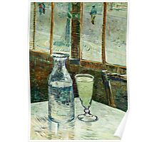 Vincent Van Gogh - Cafe Table With Absinth  Poster