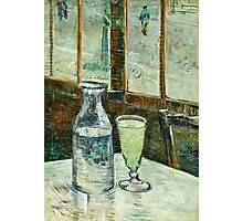 Vincent Van Gogh - Cafe Table With Absinth  Photographic Print