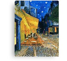 Vincent Van Gogh - Cafe Terrace, Place Du Forum, Arles 1888  Canvas Print