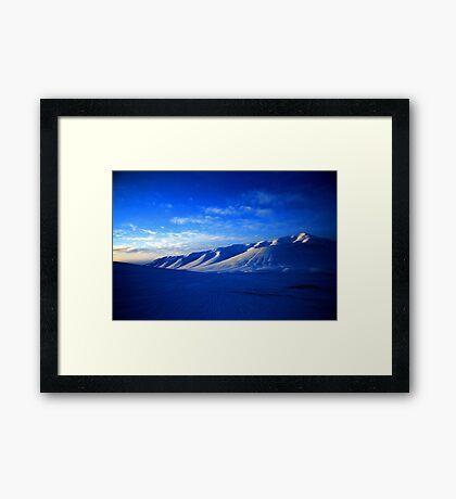 Svalbard Wilderness Framed Print