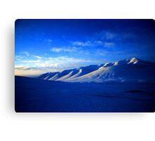 Svalbard Wilderness Canvas Print
