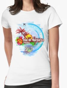 Isla de Margarita Venezuela Womens Fitted T-Shirt