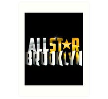 All Star Brooklyn Art Print