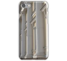Palace facade with columns iPhone Case/Skin