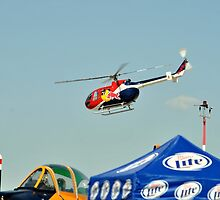 Red Bull Helicopter by Eleu Tabares