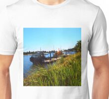 On the mouth of the Clarence River Yamba NSW Australia Unisex T-Shirt