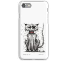 Stinker the cat iPhone Case/Skin