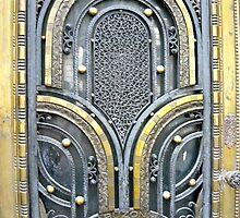 Madrid - Bronze Art Deco Door by Michelle Falcony