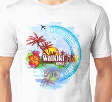 Waikiki Hawaii Unisex T-Shirt