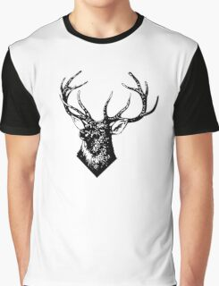 STAG, STAG DO, Stag Head, The Stag, Deer, Antlers, Hunt, Hunting Graphic T-Shirt