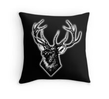 STAG, STAG DO, Stag Head, The Stag, Deer, Antlers, Hunt, Hunting Throw Pillow