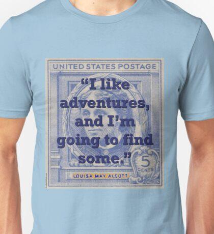 I Like Adventures - Alcott Unisex T-Shirt