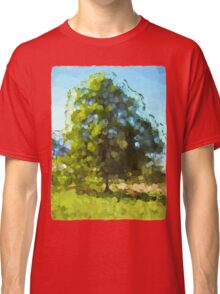 Sunlit Tree in the Wind Classic T-Shirt