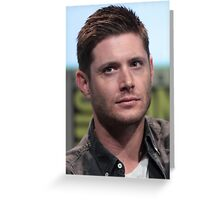 Jensen ackles - comic con Greeting Card