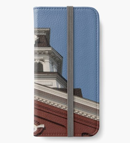 court house architecture iPhone Wallet/Case/Skin