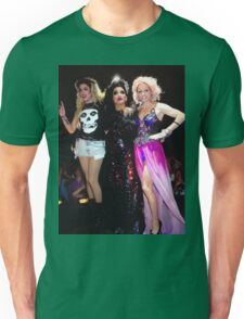 Adore delano, Bianca Del Rio & Courtney Act Unisex T-Shirt