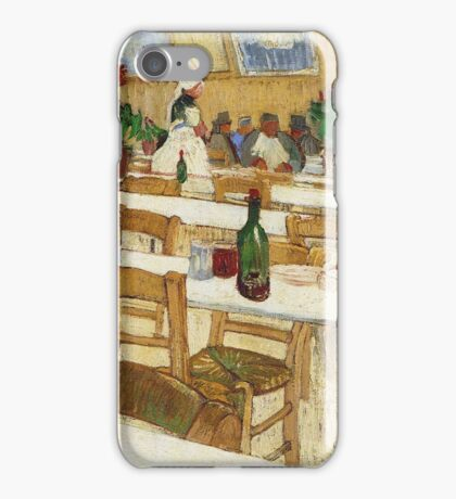 Vincent Van Gogh - Interior Of A Restaurant, 1887 02 iPhone Case/Skin