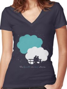 The Fault In Our Stars Women's Fitted V-Neck T-Shirt
